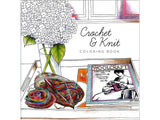 Crochet & Knit Coloring Book • Paper Accents Creative Coloring