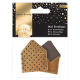Gold Forever Friends Classic Decadence Mini Envelopes 10/Pkg