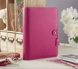 A5 Planner Kit Fuchsia Color Crush Webster's Pages (IN STOCK) FREE WASHI TAPE