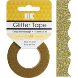 Gold Fancy Wave Best Creation Designer Glitter Tape