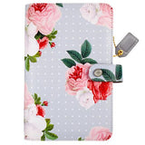 Personal Planner Kit Gray Floral Color Crush Webster's Pages • FREE WASHI TAPE