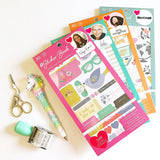 Shimelle Designer #Sticker Book
