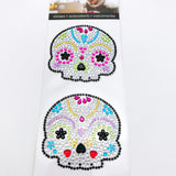 Sugar Skulls Rhinestone Stickers