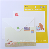 Cat Letter Set Daily Life of Cat