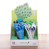 Peacock Gel Pen 48pcs Wholesale Lot