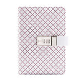 Purple Diamond Personal BINDER ONLY with Password Lock • Free Washi Tape with this order