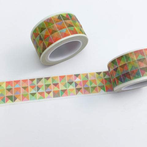 Geometric Triangles Washi Tape