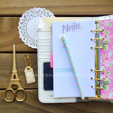 Personal Planner Kit Natural Color Crush Webster's Pages • FREE WASHI TAPE