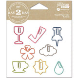 Wine Day 2 Day Planner Shaped Clips 8/Pkg • Jillibean Soup