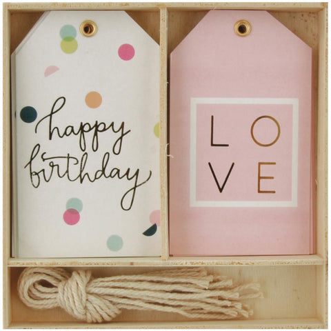 Happy Birthday Lucky Dip Gift Tags 12/Box