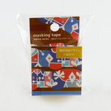 Geometric Round Top Masking Tape • Chiyo Material Michemon Tokiiro Series