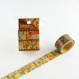 Geometric Round Top Masking Tape • Modern Material Michemon Tokiiro Series