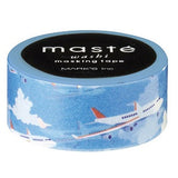 Airplane Japanese Washi Tape • Travel Masté Masking Tape