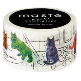 Cats In Istanbul Japanese Washi Tape • Travel Masté Masking Tape