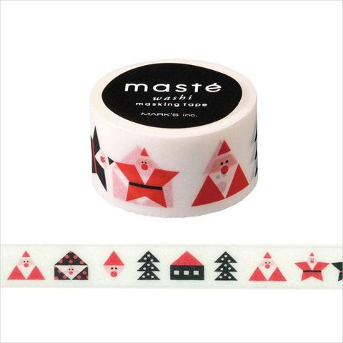 Santa Claus Japanese Washi Tape • Japan Masté Masking Tape