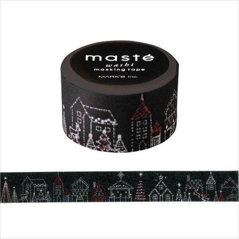 Christmas Illumination Japanese Washi Tape • Japan Masté Masking Tape