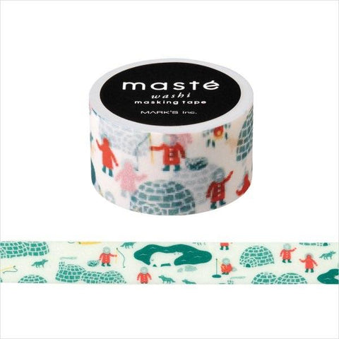 Igloo Japanese Washi Tape • Japan Masté Masking Tape