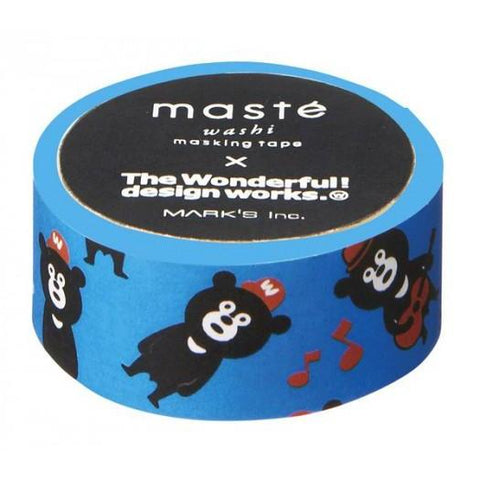 A masking tape created in partnership with the famous Wonder Bear