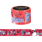 City 4 Washi Tape Set (3/pkg) Masté Masking Tape City Series