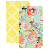 The Good Life Color Crush Traveler's Notebooks Inserts Set Trellis & Flowers