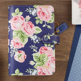 Personal Planner Kit Navy Floral Color Crush Webster's Pages • FREE WASHI TAPE