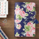 Travelers Planner Navy Floral Color Crush Webster's Pages • FREE WASHI TAPE