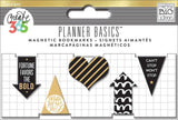 Gold Create 365 Happy Planner Mini Magnetic Clips 5/Pkg