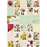 Botanicals Papermania A5 Paper Pack 32/Pkg