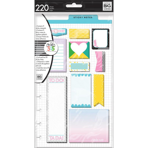 Donut Forget Sticky Notes • Create 365 Happy Planner Sticky Notes 220/Pkg