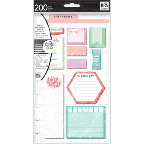 Be There Sticky Notes • Create 365 Happy Planner Sticky Notes 200/Pkg