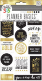 Gold Seize The Day Create 365 Planner Stickers 5 Sheets/Pkg