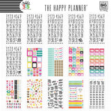 30 sheets of stickers designed specifically for your Happy Planner® featuring gold foil