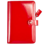 Personal Planner Kit Patent Red Color Crush Webster's Pages • FREE WASHI TAPE