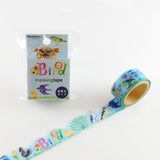 Bird Round Top Masking Tape • Atelier Apartment Die Cut Washi Tape