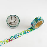 Gara Washi Tape • Round Top Masking Tape Space Craft