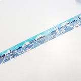 Airline Round Top Masking Tape • Space Craft