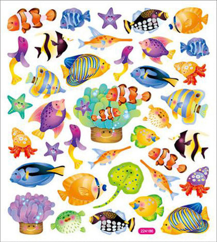 Reef Fish Sticker