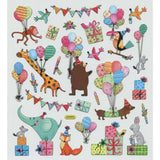 Animal Party Sticker • Birthday Party