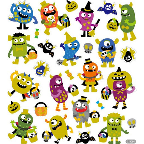 Monsters Sticker • Halloween Party