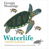 Waterlife A Mindful Coloring Book • St. Martin's Books Coloring Book