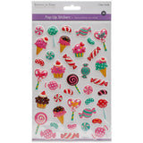 Candy Land Fancy MultiCraft 3D Pop-Up! Stickers