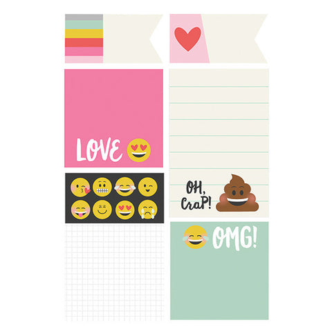Carpe Diem Emoji Love Sticky Notes Simple Stories