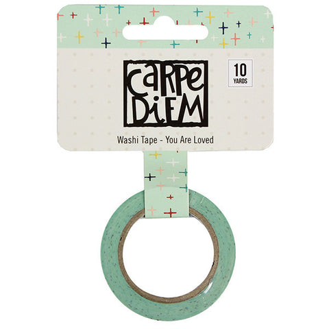 Faith You Are Loved Washi Tape Simple Stories Carpe Diem