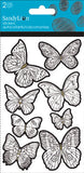 Color Me Butterfly Sticker (2 sheets)