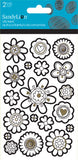 Color Me Flower Sticker (2 sheets)