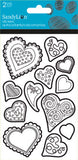 Color Me Heart Sticker (2 sheets)