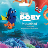 Finding Dory Mini Stickerland Pads (6 Pages)