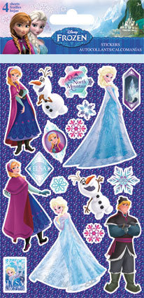 Disney Frozen Elsa Sticker (4 sheets)