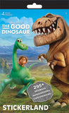 The Good Dinosaur Stickerland Pad (4 pages)