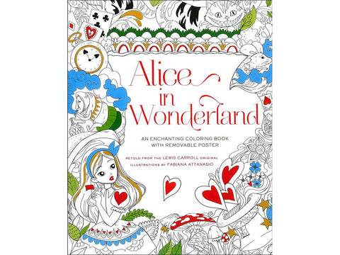 Alice In Wonderland Coloring Book O Sterling Childrens Books